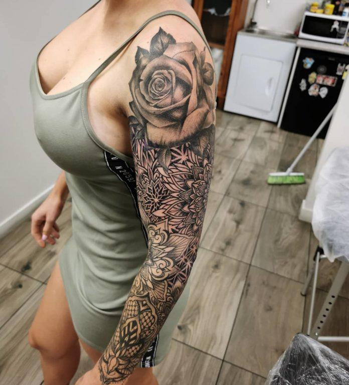 67 new 1 - Top 100 Tatouages Bras Complet pour Femme