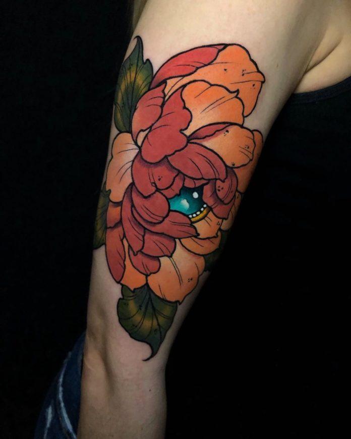 69 3 - Idées de Tatouage Fleur pour Femme (100 photos)