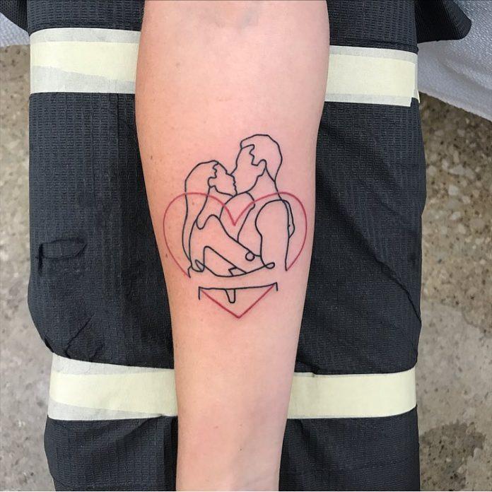 69 4 - 100 des plus beaux Tatouages Coeur pour Femme
