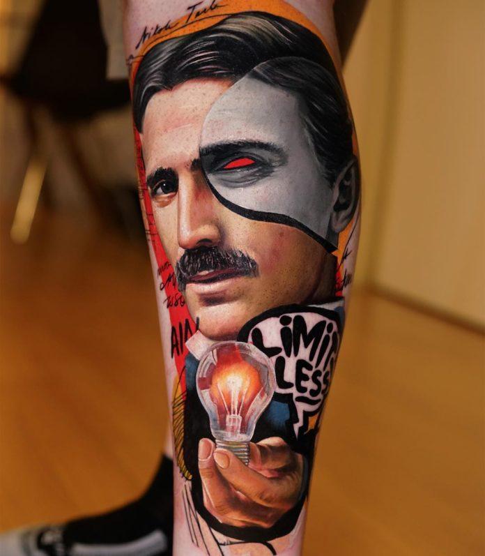7 1 1 - Top 100 Tatouage Mollet Homme