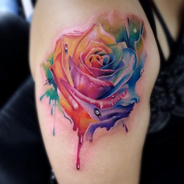 75 3 - Idées de Tatouage Fleur pour Femme (100 photos)
