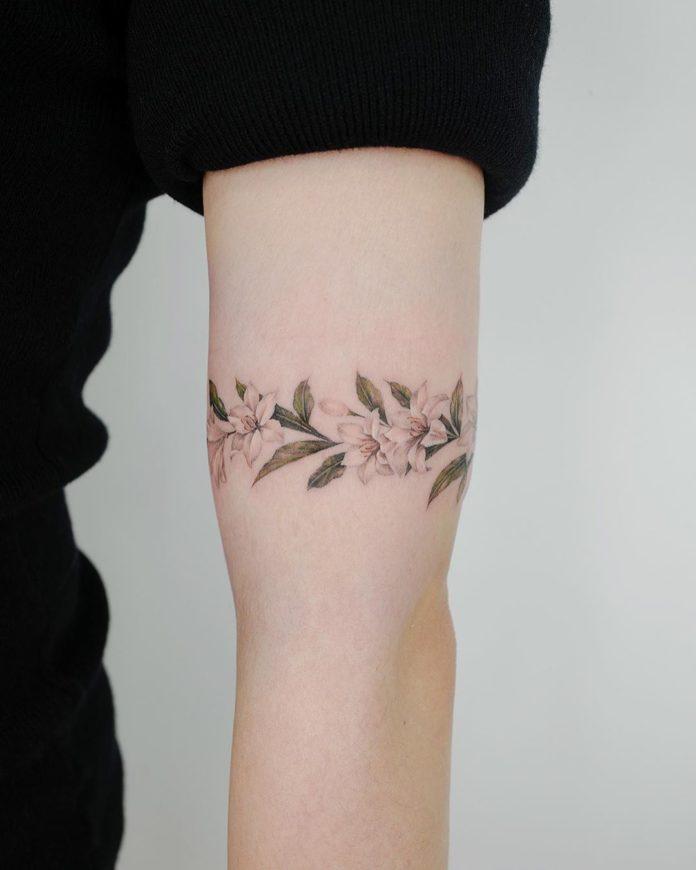 8 8 - 100 idées de Tatouages Bracelet pour Femme