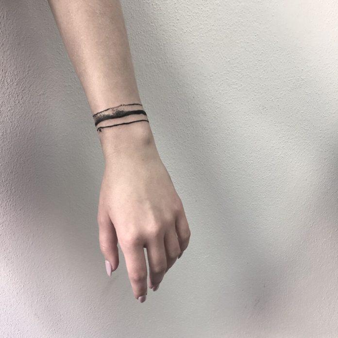80 new 4 - 100 idées de Tatouages Bracelet pour Femme