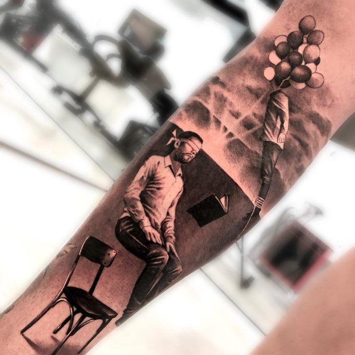 90 1 - Top 100 Tatouage Mollet Homme