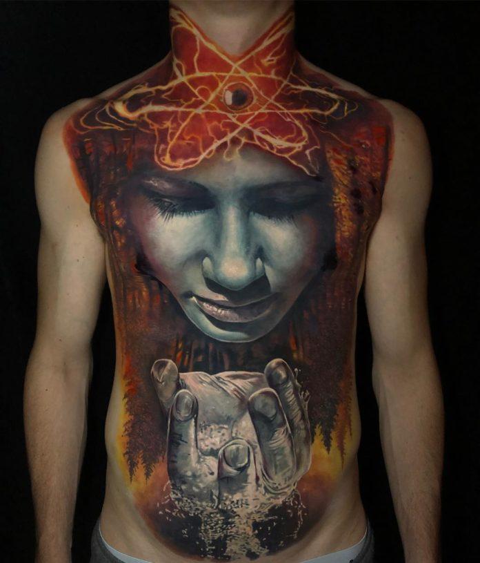 100 Tatouages Torse Homme Inspirants |   TATOUEZ