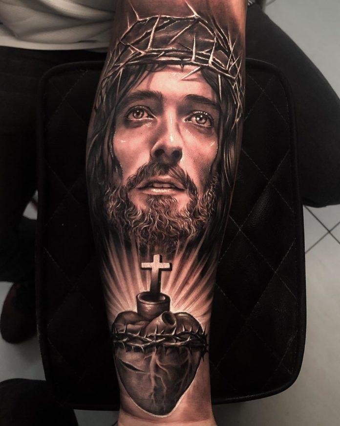 11 2 - 40 Tatouages Croix pour Homme
