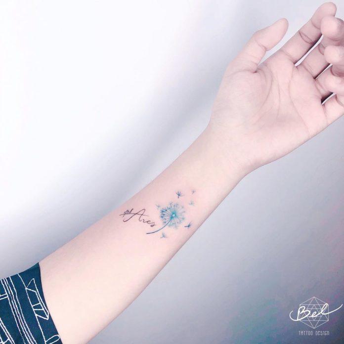 12 14 - 40 Tatouages Pissenlit pour Femme