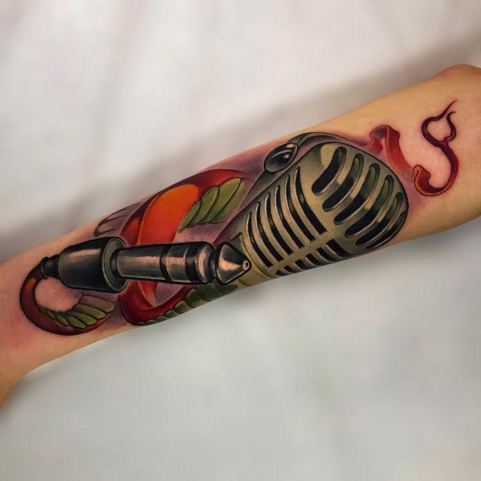 12 - 40 Tatouages Musique pour exprimer votre passion