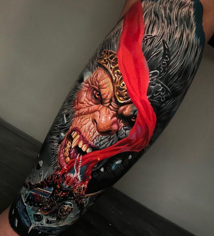 13 9 - 100 magnifiques Tatouages Réalistes pour Homme