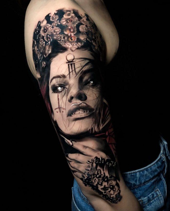 17 9 - 100 Tatouages Réaliste pour Femme fascinants