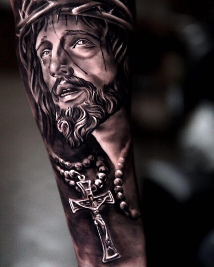 19 2 - 40 Tatouages Croix pour Homme