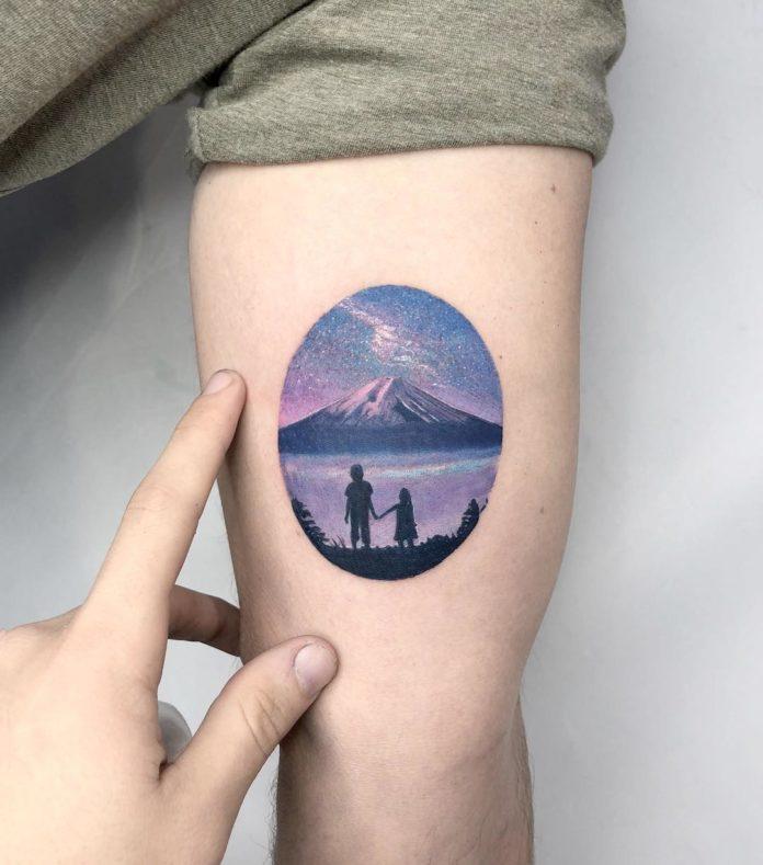 19 5 - 40 Tatouages Montagne pour Homme