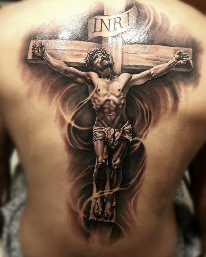 2 4 - 40 Tatouages Croix pour Homme
