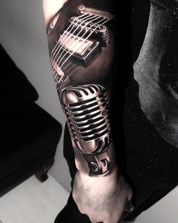 21 3 - 40 Tatouages Musique pour exprimer votre passion