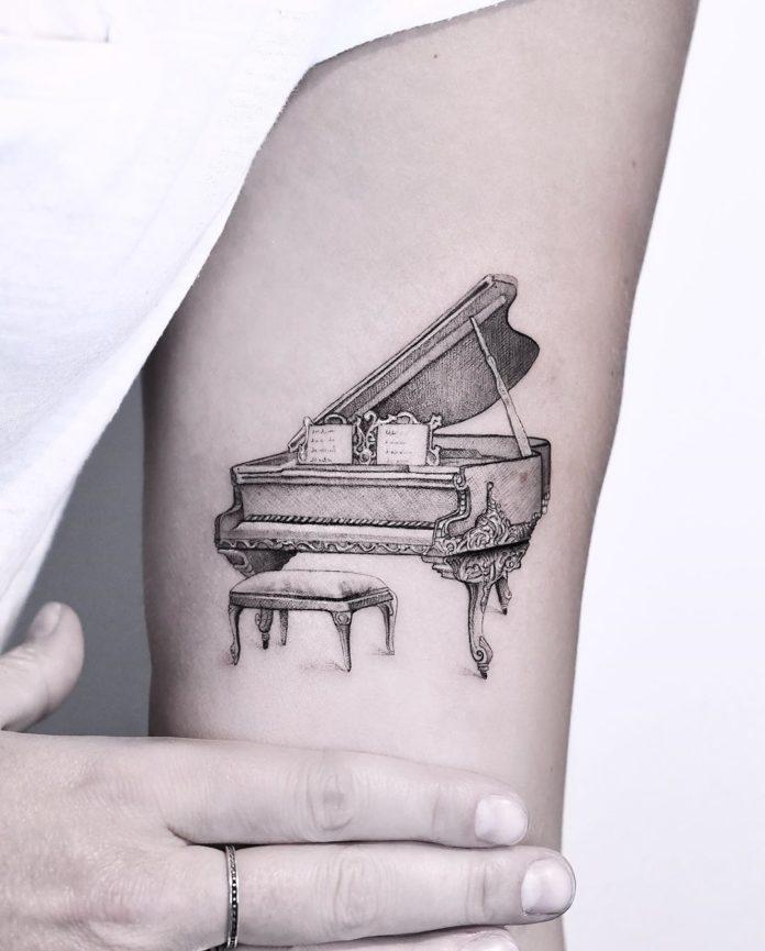 25 3 - 40 Tatouages Musique pour exprimer votre passion