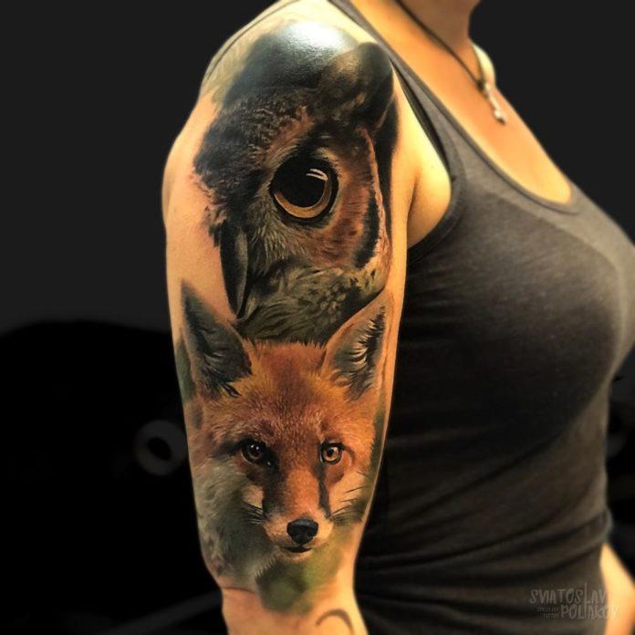 29 10 - 100 Tatouages Réaliste pour Femme fascinants