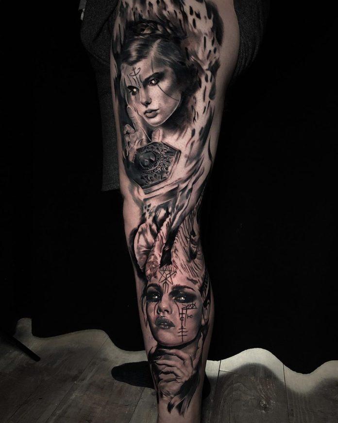 36 8 - 100 magnifiques Tatouages Réalistes pour Homme
