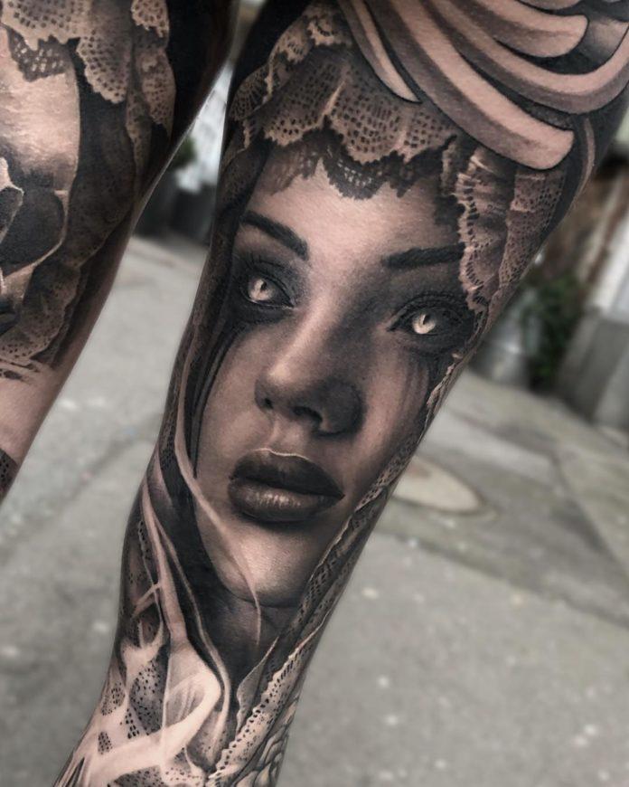 38 8 - 100 Tatouages Réaliste pour Femme fascinants