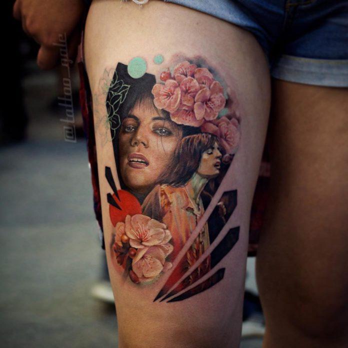 39 13 - 100 Tatouages Réaliste pour Femme fascinants
