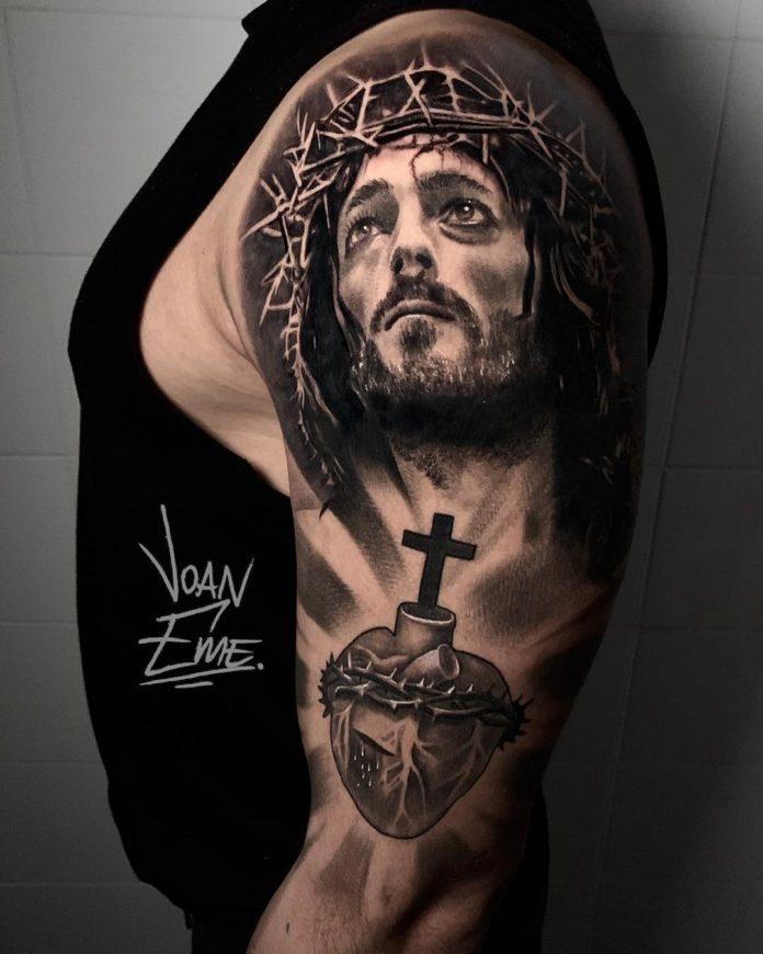 39 3 - 40 Tatouages Croix pour Homme