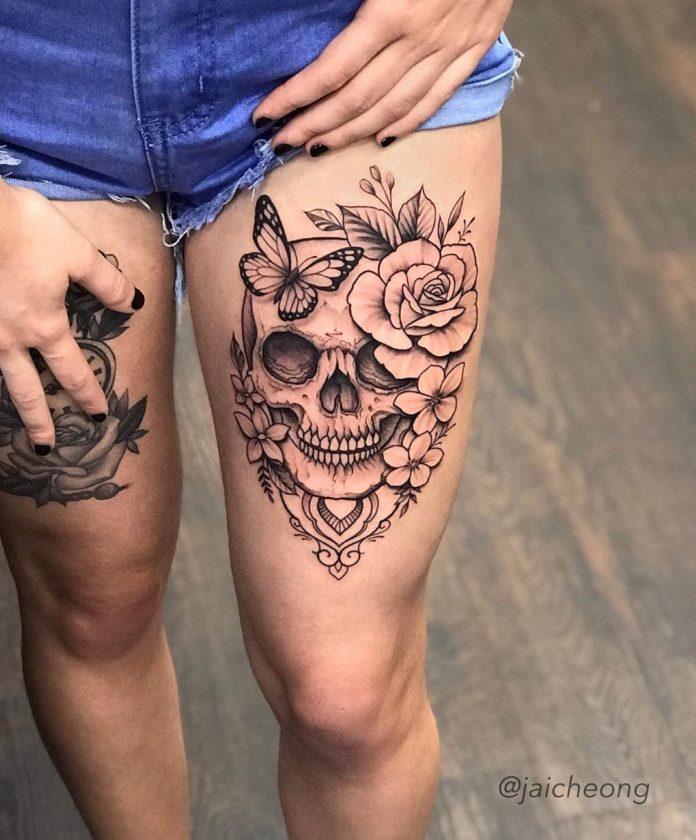 40 2 - 100 Tatouages Rose pour Femme