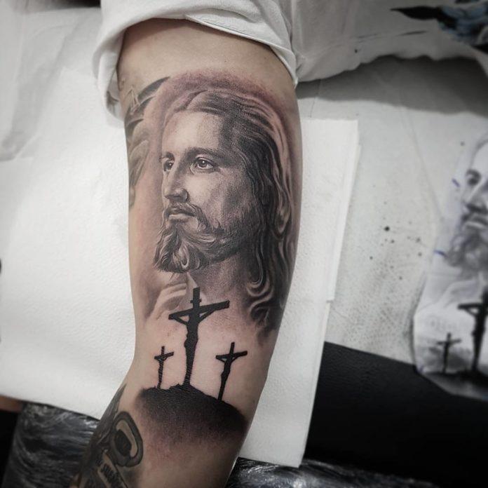 40 4 - 40 Tatouages Croix pour Homme