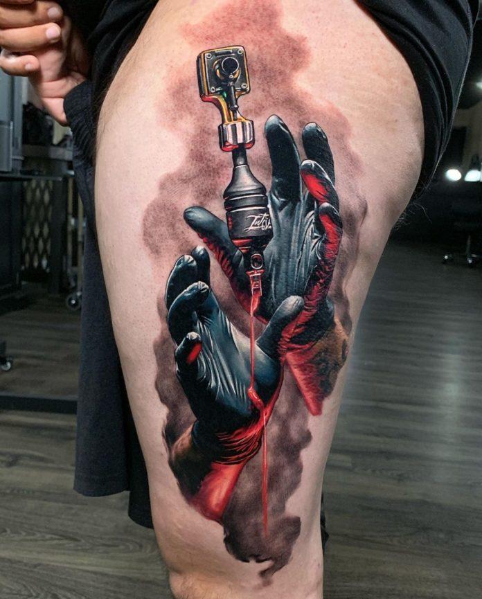 42 2 - 100 magnifiques Tatouages Réalistes pour Homme