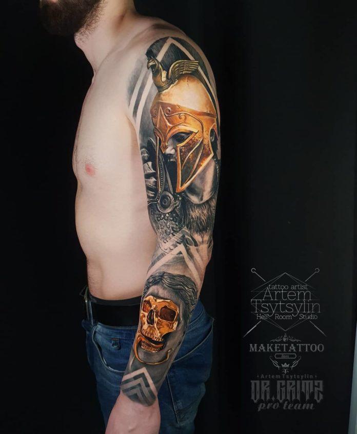 46 1 - 100 magnifiques Tatouages Réalistes pour Homme
