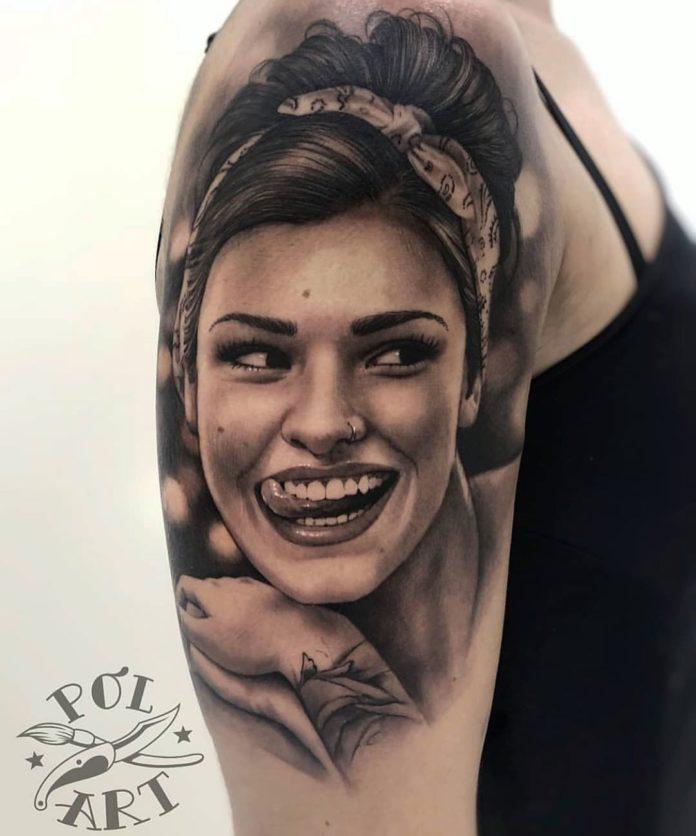 48 2 - 100 Tatouages Réaliste pour Femme fascinants