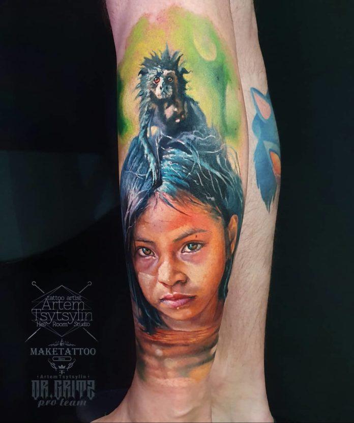 49 2 - 100 magnifiques Tatouages Réalistes pour Homme