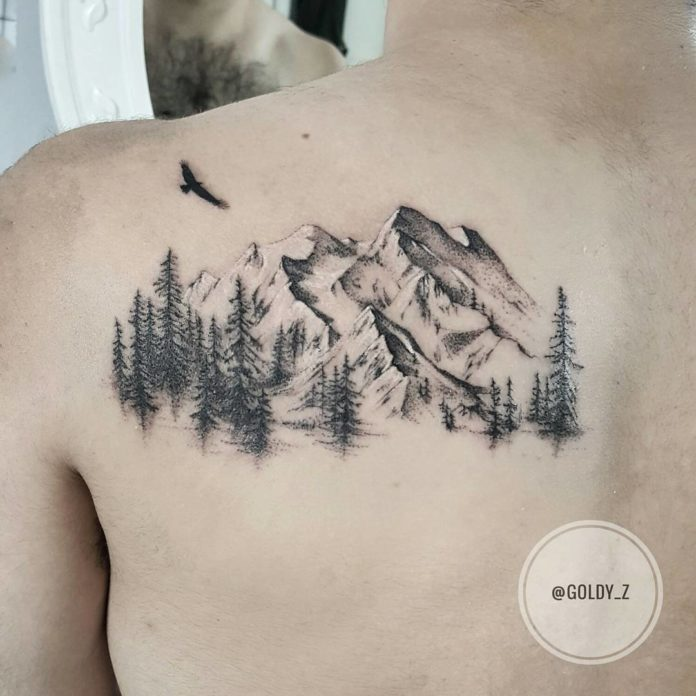 5 10 - 40 Tatouages Montagne pour Homme