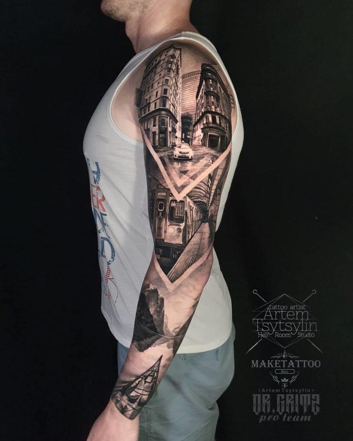 50 2 - 100 magnifiques Tatouages Réalistes pour Homme