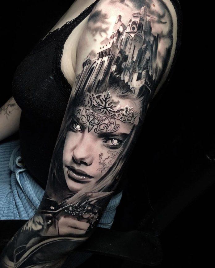 50 3 - 100 Tatouages Réaliste pour Femme fascinants
