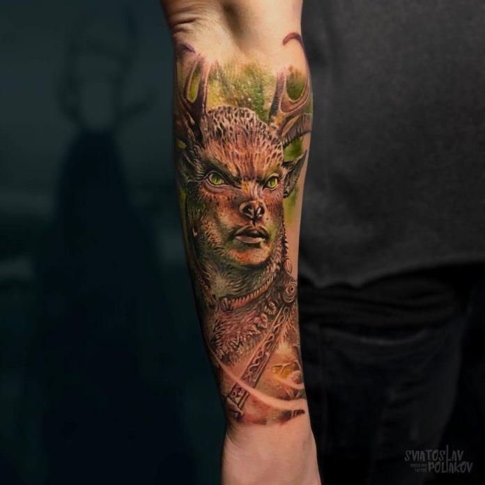 53 2 - 100 magnifiques Tatouages Réalistes pour Homme