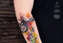 tatouage musique