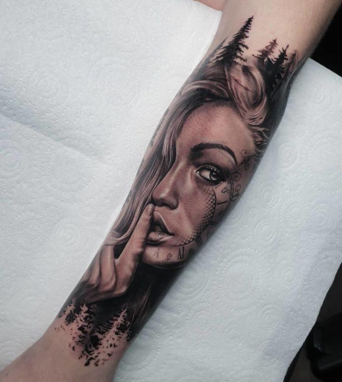 6 11 - 100 Tatouages Réaliste pour Femme fascinants