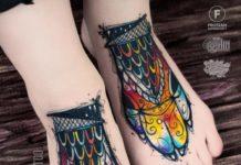 Tatouage pied pour femme