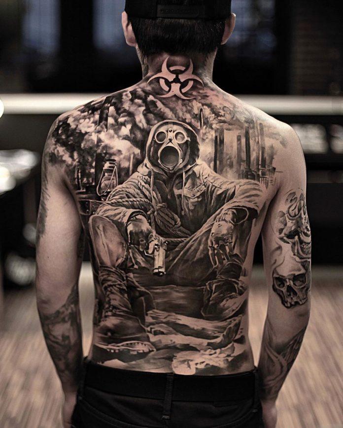 6 7 - 100 magnifiques Tatouages Réalistes pour Homme