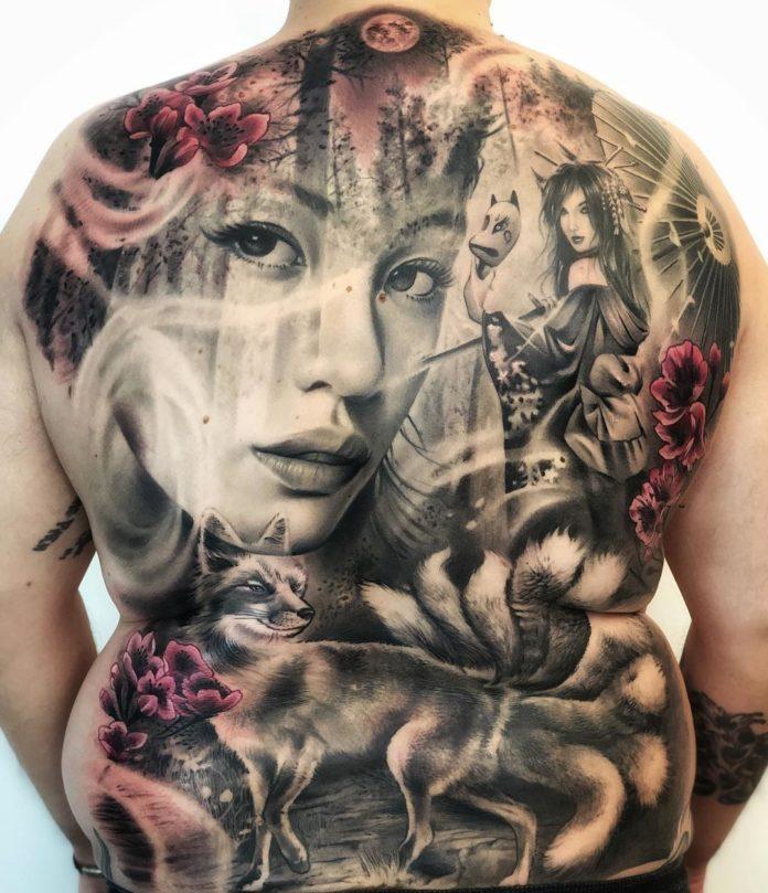 65 2 - 100 Tatouages Réaliste pour Femme fascinants