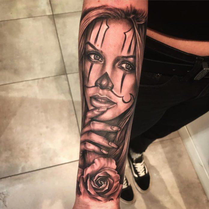 67 2 - 100 Tatouages Rose pour Femme