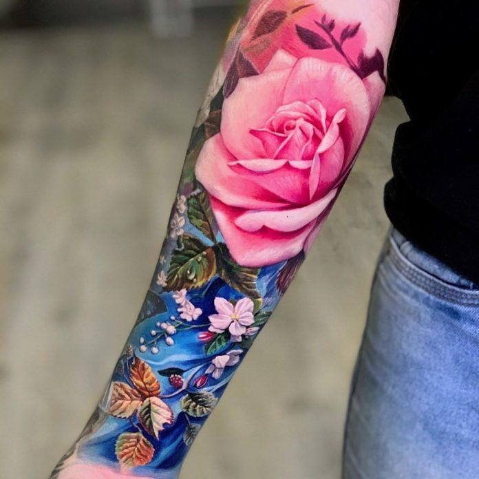 68 4 - 100 Tatouages Réaliste pour Femme fascinants