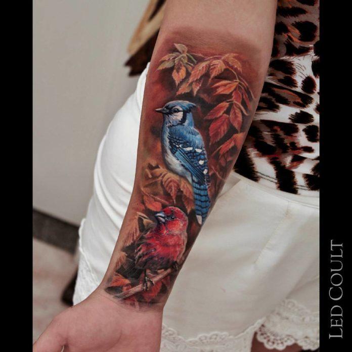 73 2 - 100 Tatouages Réaliste pour Femme fascinants