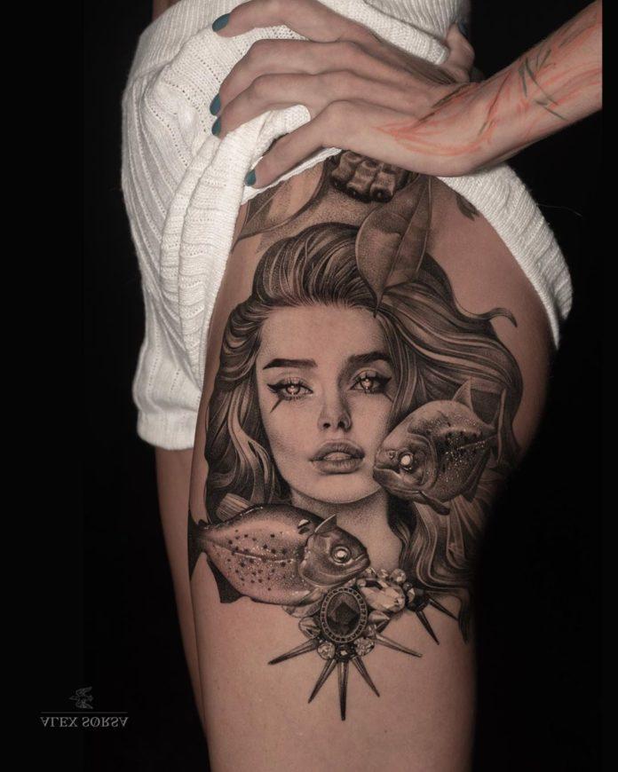 75 3 - 100 Tatouages Réaliste pour Femme fascinants