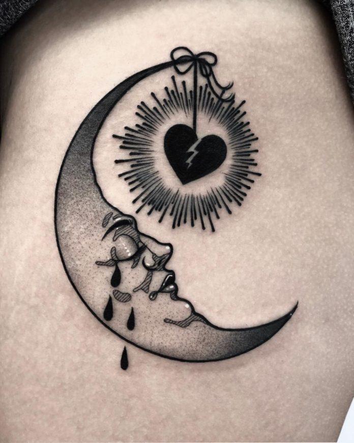 81 new - 100 des plus beaux Tatouages Coeur pour Femme