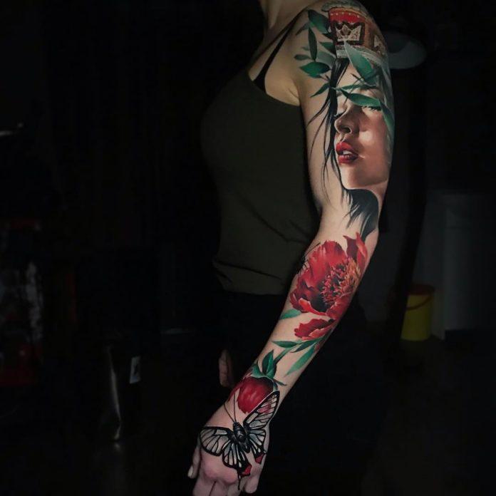 87 4 - 100 Tatouages Réaliste pour Femme fascinants