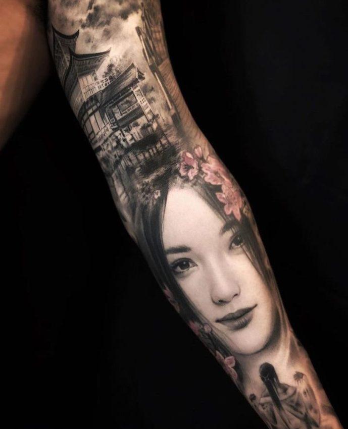 94 2 e1579490982484 - 100 magnifiques Tatouages Réalistes pour Homme