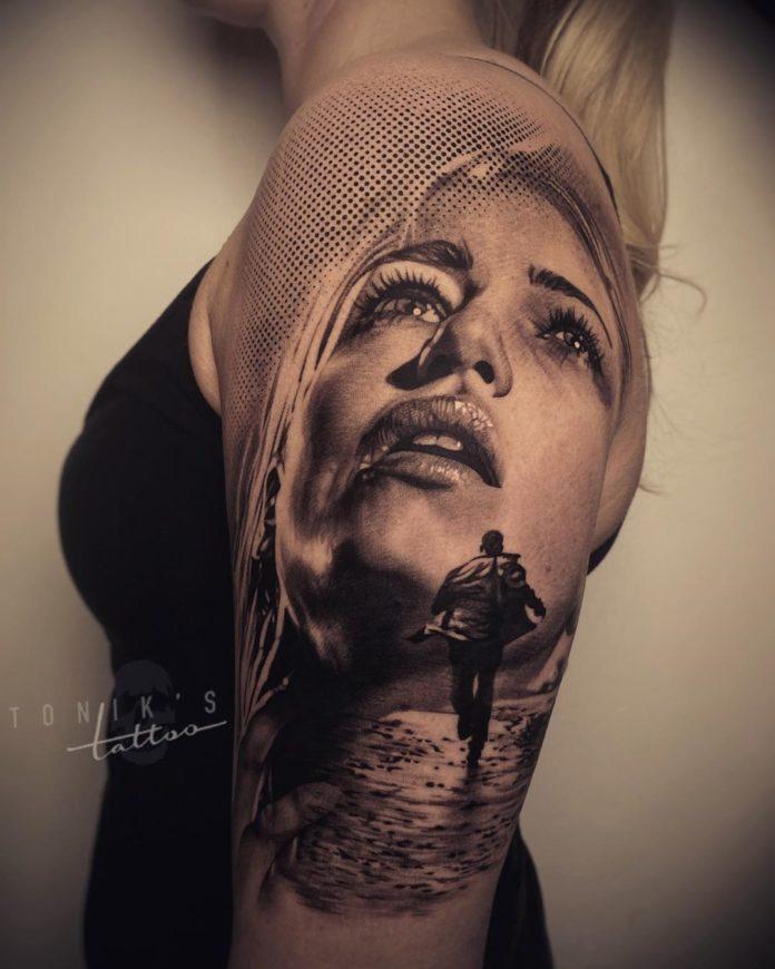98 3 - 100 Tatouages Réaliste pour Femme fascinants