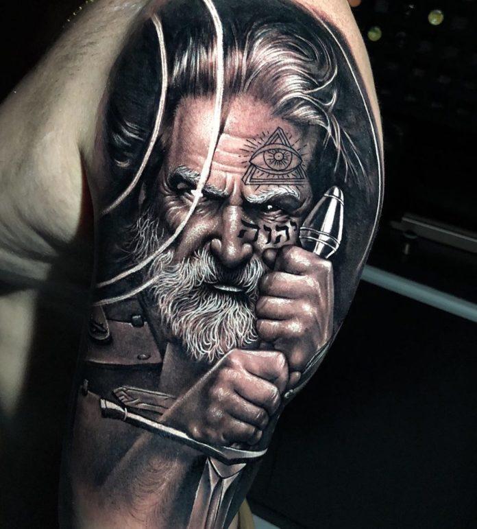13 14 - 80 Tatouages Viking pour Homme