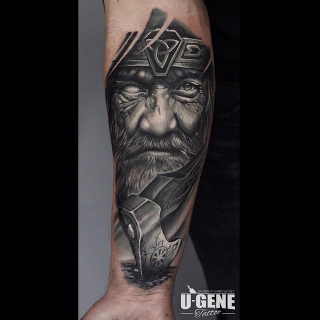 17 13 - 80 Tatouages Viking pour Homme