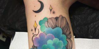 Tatouages Mollet pour Femme